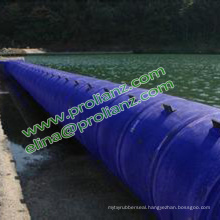 China Round Colorful Rubber Bladder Dam to South Africa