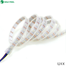 Direccionable arduino digital 60 leds / m apa102CIC doble rgb difusa digital pixel led luz de tira flexible 5050smd