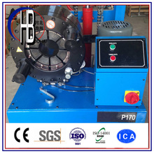China Wire Inserted Hydraulic Hose Crimping Machine