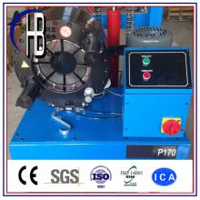 Máquina que prensa de la manguera P20 con herramienta de cambio rápido