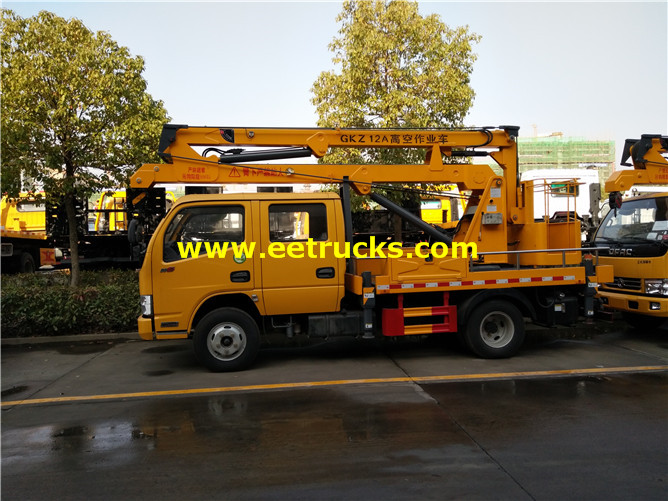 Articulated Aerial Lift Vehicles