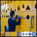 Re-circulando a máquina de secagem de milho em lote