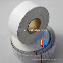 Etiquetas de papelão de roupas de marca de swing impresso em branco personalizado