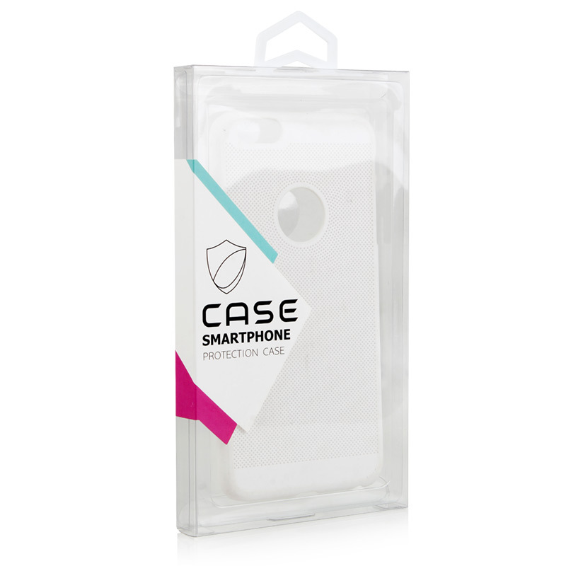 Clear Plastic Box For mobile Phone Case