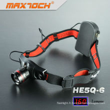 Maxtoch HE5Q-6 Cree Q5 Zoom chasse lampe LED