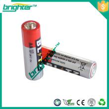 1,5v r6 um3 bateria de carbono seco