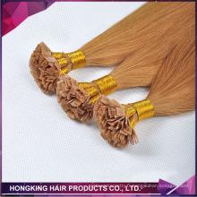 cheveux brésiliens italien keartin bout plat cheveux extenison