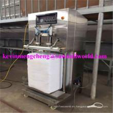 Dosificadora de virutas de madera Empacadora vertical hidráulica de la máquina