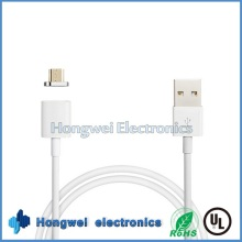 High Speed 8 Pin PVC Sync Charger Micro Magnetic USB Cable for Samsung