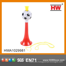 Trompeta de plástico barata clásica para el fútbol