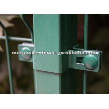 Poste de vedação galvanizado elétrico