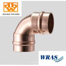 Sanitärarmaturen 90 Grad Kupfer Solder Ring Elbow 15mm