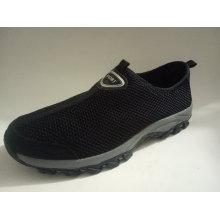 Clip de malha em sapatos masculinos casuais (NX 550)