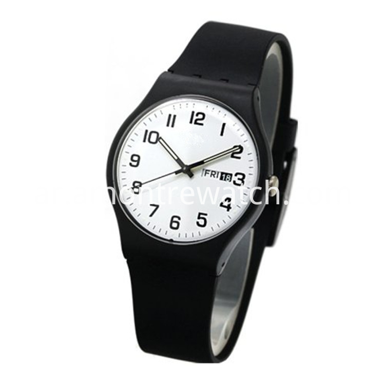 Durable Resin black watch
