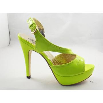 Sandalias de tacón alto Fshion para mujer (HCY03-117)