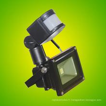 Lumière d'inondation de la meilleure qualité 20W LED avec le capteur de mouvement imperméable