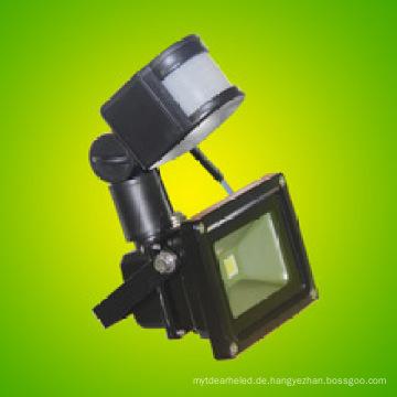 Top Qualität 20 Watt LED Flutlicht mit Motion Sensor Wasserdicht