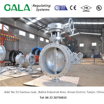 double eccentric butterfly valve made in china