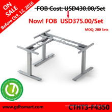 CTHT3-F4350 preiswerter Preis 3legs modren desgins Höhe und Länge justierbarer Schreibtisch