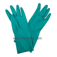 Bee Glove Green Nitrile Gloves Industrial Latex Free Safety Work Glove