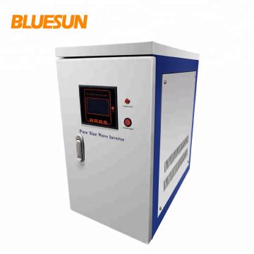 Alta qualidade de Bluesun fora do inversor 5kw 10kw do sistema da energia solar da grade para o uso home
