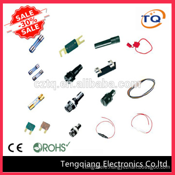 A wide range of glass fuses