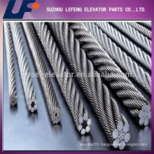 Elevator components elevator stainless steel wire rope