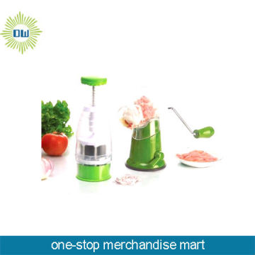 plastic meat mincer
