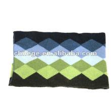 мода кашемир/шерсть трикотажные шарфы