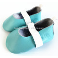 Latest high quality lovely lace first walker soft baby girl leather shoe