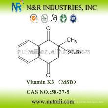 Sourcing confiable Vitamina K3 96% MSB 58-27-5