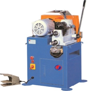 Semi-automatic single head chamfering machine