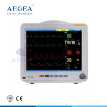 AG-BZ008 medical device heart rate equipment multi paraments ICU hospital monitor