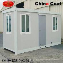 Casa prefabricada del envase de envío de la construcción del hogar del diseño internacional 40FT