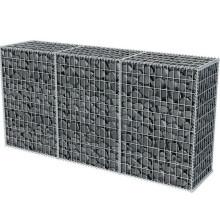 hot dipped galvanized stone cage gabion box rock filled gabion baskets