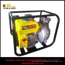 Power Value gasolina bomba de agua 5.5hp, bomba de agua eléctrica portátil de alta presión