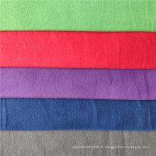Tissu polaire brossé