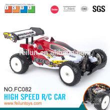 2.4G 4CH 1:10 escala de alta velocidad digital proporcional rc coche con EN71/ASTM/EN62115/6 P R & TTE/EMC/ROHS