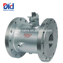 Fire Safe Dn10 Flange Pn40 Hot Water 3 Inch Jacket Stainless Steel Insulation Steam Ball Valve Full Bore