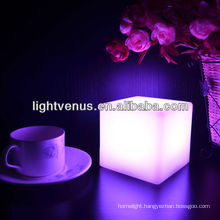 China Manufactuer Living Color Change LED Table Light Color Cube