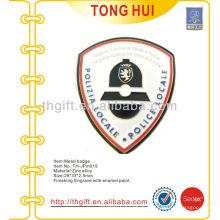 Metal soft enamel police souvenir lapel pin/badge