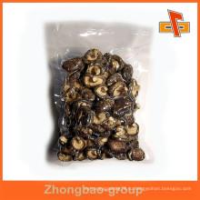 Ламинированный нейлоновый материал для пищевых продуктов на заказ печатные вакуумные герметичные пластиковые пакеты для грибов
