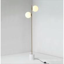 European style home decorative light modern marble standing floor lamp for living room