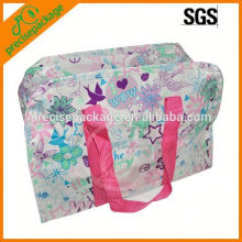 Senior custom laminated non woven tote bag for picnic