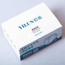 Masque facial non tissé anti-poussière pliable pour respirateur anti-poussière