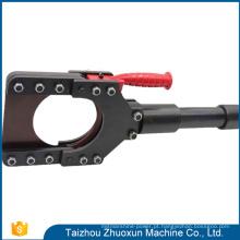 Corda de fio de aço do extrator da engrenagem do desempenho Cpc-120 Cortador de cabo manual de alta qualidade do hidráulico