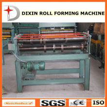 Rolo de corte de chapa de metal dá forma à máquina