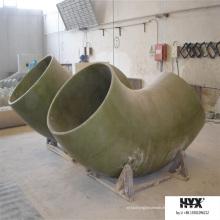 Raccord de tuyau en PRF - Coude avec poids léger