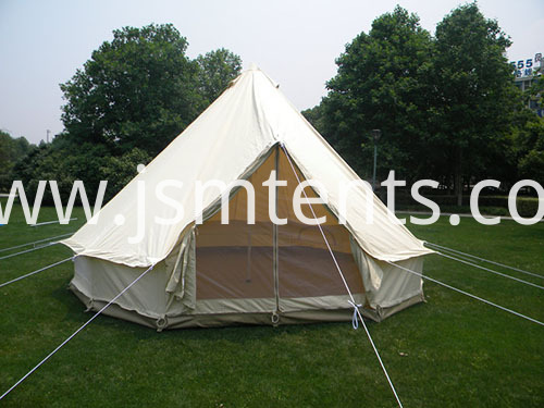 Outdoor camping bell tents