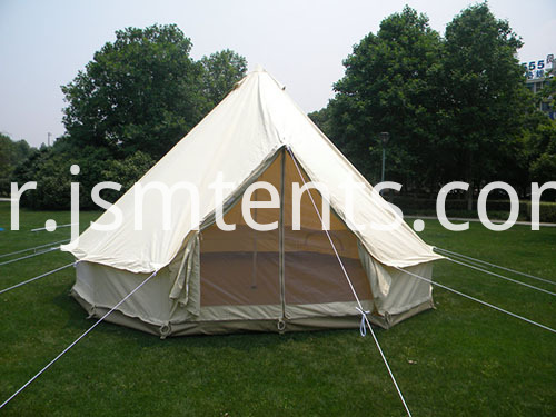 100% cotton luxury canvas bell tent